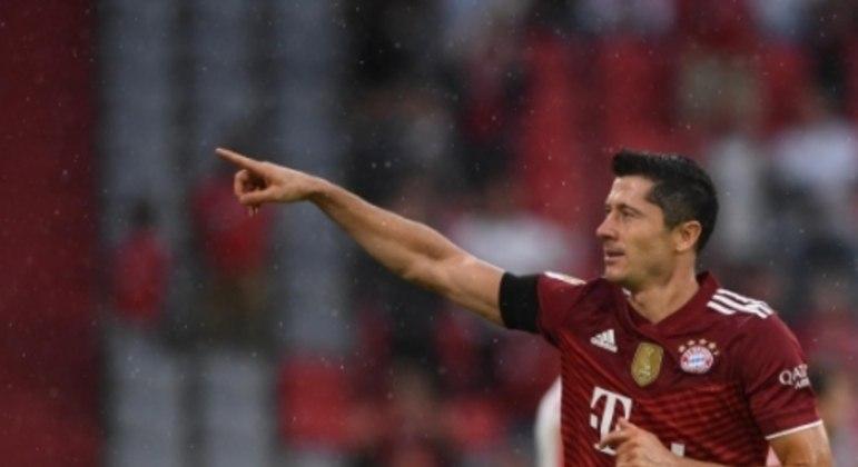 Bayern de Munique x Colônia - Lewandowski