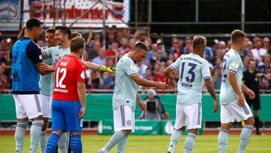 c01e394b29721 Bayern bate time da 4ª divisão e avança na Copa da Alemanha