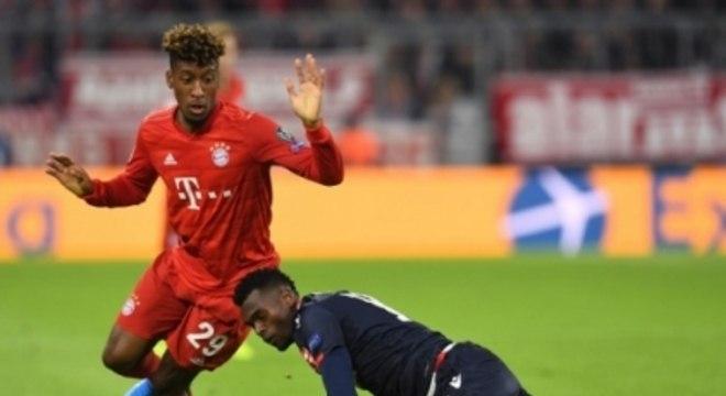 Bayern x Estrela Vermelha