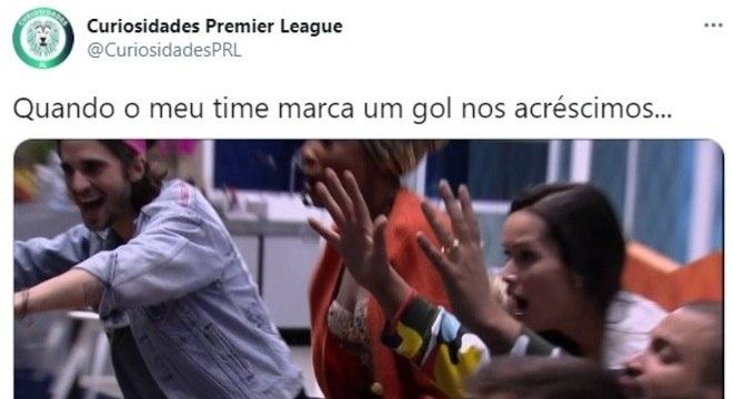 BBB 21: fãs de futebol entram na onda do programa e fazem memes na estreia