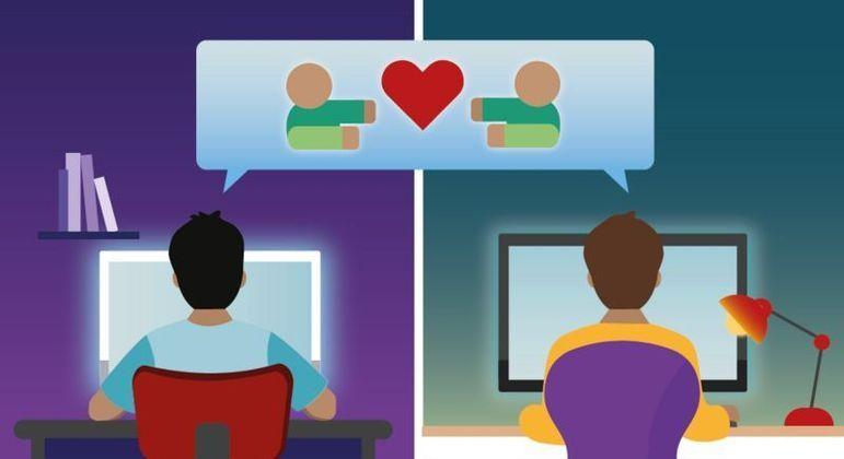 Há incontáveis histórias de amizades e relacionamentos amorosos que surgiram nas plataformas