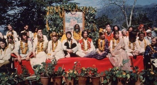 Os Beatles viveram por quase três meses do ashram do guru Maharishi Mahesh Yogi em 68