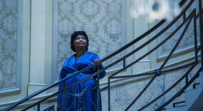 Octavia Spencer em cena da série 'A Vida e a História de Madam C. J. Walker'