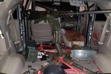 Arma usada em ataque em Botucatu