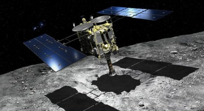 Hayabusa 2 will use a projectile to excavate fresh material from beneath Ryugu's surface