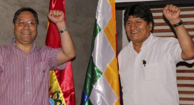 Arce é visto como pupilo de Evo Morales