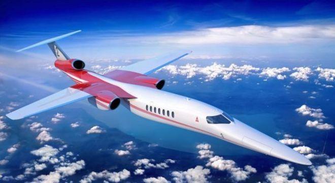 As empresas Aerion, Lockheed Martin e GE Aviation estão trabalhando em conjunto para desenvolver jatos supersônicos