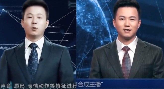 Agência de notícias chinesa cria primeiro âncora de TV com inteligência artificial