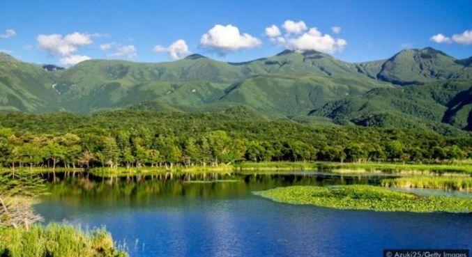 O Parque Nacional de Shiretoko, em Hokkaido, era uma área tradicional de caça e pesca Ainu