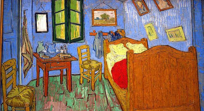 O quarto de Van Gogh em Arles foi retratado por ele nesta pintura