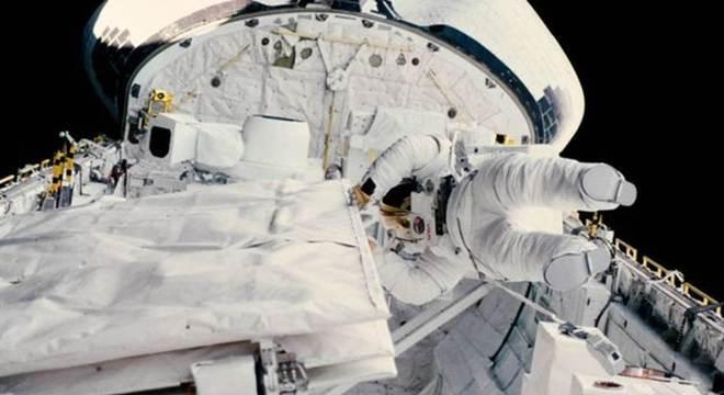 Sullivan aparece em missão a bordo do ônibus espacial Challenger em 1984