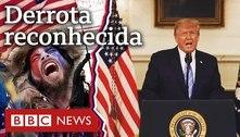 Como Trump foi de encorajar ida ao Capitólio a reconhecer derrota em um dia