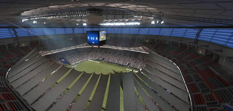 BC Place Stadium - Canadá