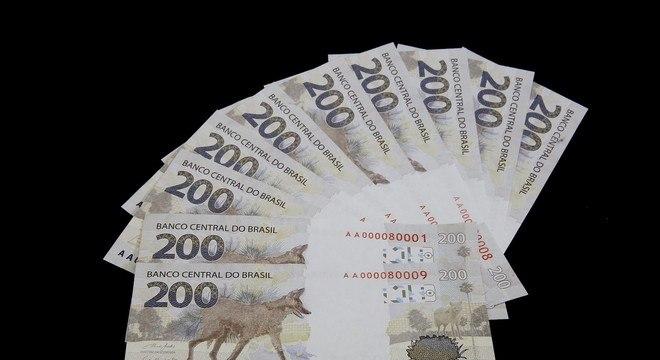 A nova nota de R$ 200 que começa a circular nesta quarta-feira (2)