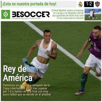 Be Soccer - O jornal espanhol chamou o Palmeiras de