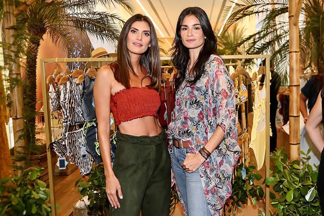 Isabella Fiorentino e Carol Ribeiro, representantes de uma geração de modelos de sucesso