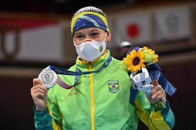 Beatriz Ferreira: a pugilista de 28 anos é campeã mundial, pan-americana e foi prata em Tóquio 2020. É cotada para mais um pódio daqui a três anos, na Olimpíada de Paris 2024