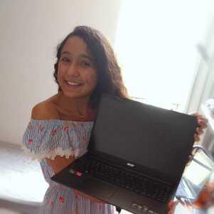 Beatriz: feliz pelo movimento feminino em tecnologia