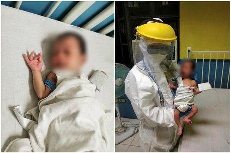 Bebê de 16 dias vence coronavírus nas Filipinas