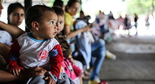 Na Venezuela, a falta de vacinas tem feito ressurgirem doenças que haviam quase desaparecido