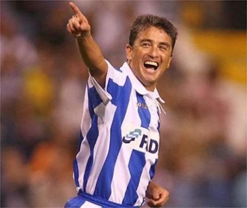Bebeto - 86 gols atuando pelo Deportivo La Coruña