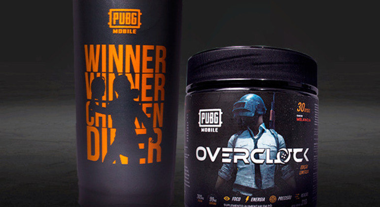 Marca de bebidas cria produto em parceria com o PUBG