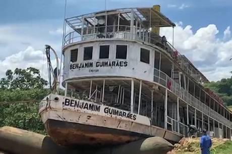 Embarcação passará por processo de restauração