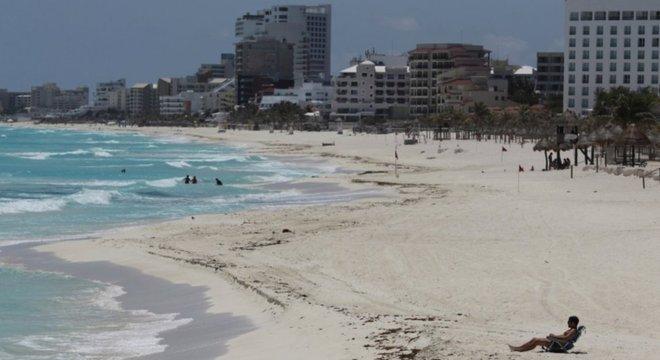 Cancún passou seu aniversário bem diferente dos seus 50 anos de vida como ponto turístico badalado