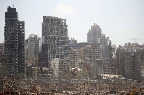 Explosão danificou sistema de abastecimento de Beirute
