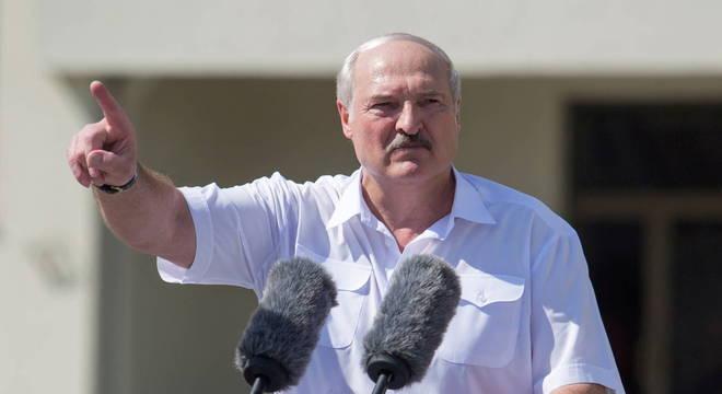 Presidente de Belarus criticou oposição e países ocidentais
