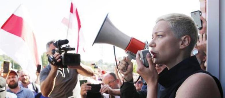 Comitê de Fronteira de Belarus confirmou a detenção de Maria Kolesnikova