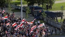 Protesto contra Lukashenko reúne pelo menos 100 mil em Belarus