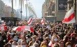 A mídia bielorrussa relatou grupos de grevistas em muitas grandes estatais, mas a porta-voz do primeiro-ministro disse que todas as grandes empresas industriais estão trabalhando normalmente