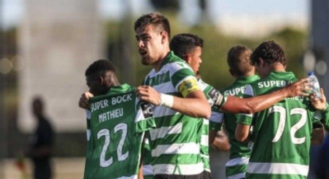 Belenenses x Sporting - Coates - Homenagem a Mathieu