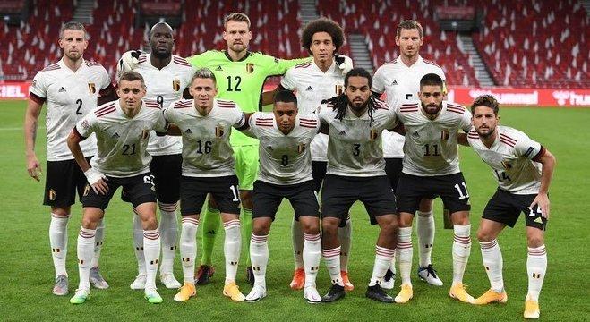 A seleção da Bélgica
