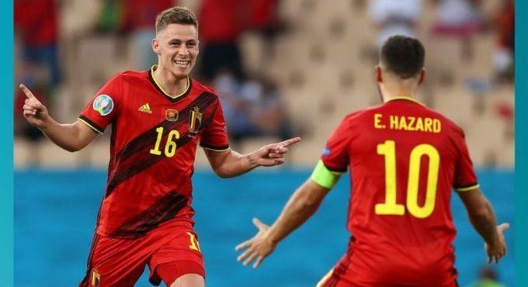 Thorgan e Eden Hazard, os dois manos da Bélgica que subrepujou Portugal
