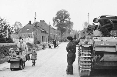 Bélgica foi invadida pelos nazista em 1940