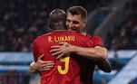 Na comemoração do segundo gol, o primeiro dele na partida, Lukaku homenageou omeia Eriksen, que desmaiou durante o jogo entre Dinamarca e Finlândia— eles jogam juntos na Inter-ITA