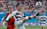 Cristiano Ronaldo vinha sendo o destaque da equipe portuguesa, com cinco tentos anotados no campeonato. No entanto, o gajo não foi capaz de superar os rivais da Bélgica e deu adeus ao torneio