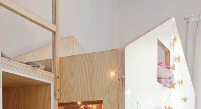 Beliche estilo cama casinha