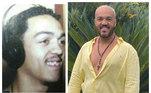 O cantor Belo parece até outra pessoa, tamanhas as mudanças tanto no rosto quanto no corpo e, principalmente, no sorriso