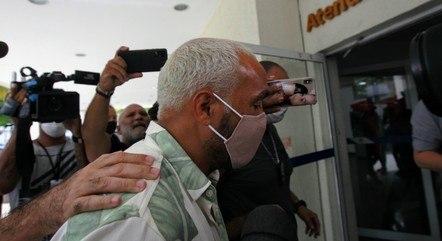 Belo passou a noite na prisão no Rio