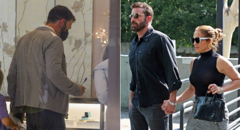 O romance entre Ben Affleck e Jennifer Lopez não é mais segredo para ninguém, mas as coisas parecem estar tomando um rumo ainda mais sério. O ator foi flagrado olhando alianças em uma das lojas da famosa rede de joalherias Tiffany & Co., o que gerou boatos de um suposto noivado com a cantora