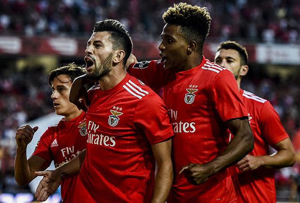 Benfica - Odysseas, André Almeida, Rúben Dias, Vertonghen, Grimaldo; Weigl, Gabriel, Pizzi; Carlos Vinícius, Everton Cebolinha e Seferovic. Treinador: Jorge Jesus.