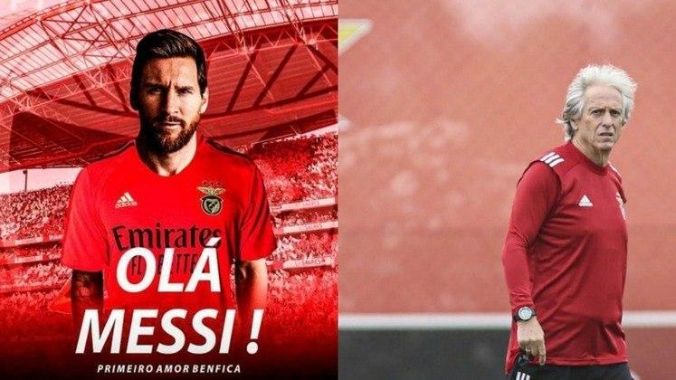 Benfica - Odysseas, André Almeida, Rúben Dias, Vertonghen, Grimaldo; Weigl, Gabriel, Pizzi; Messi, Everton Cebolinha e Seferovic. Treinador: Jorge Jesus.
