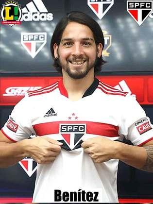 Benítez - 5,5 - Espera-se mais do meia do São Paulo que não conseguiu ser decisivo no jogo.