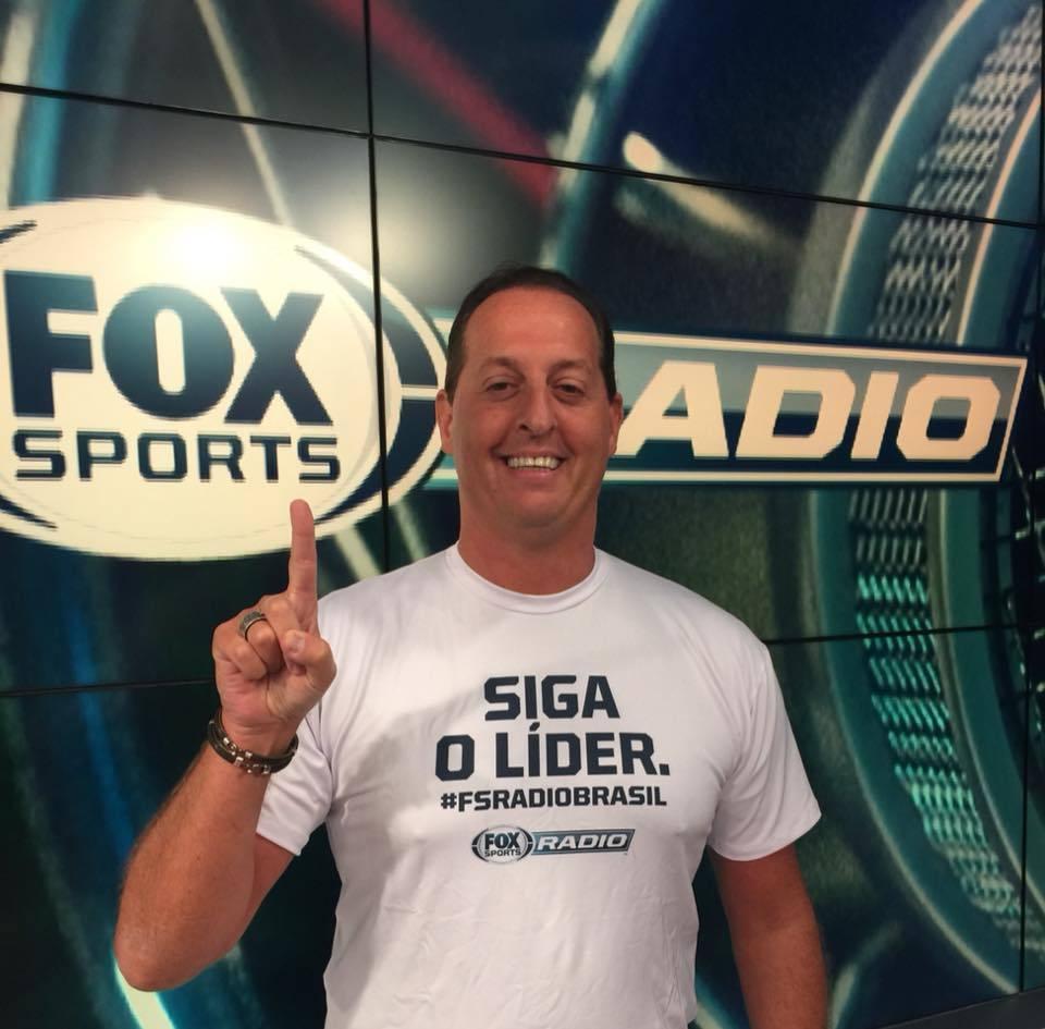 Benja conseguiu fazer com que o Fox Sports Rádio fosse o primeiro na tevê fechada