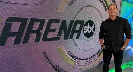 """Benjamin Back apresenta o """"Arena SBT"""", que não faz uso desses termos absurdos"""
