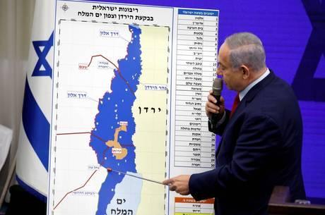 Anexação é movimento eleitoral de Netanyahu