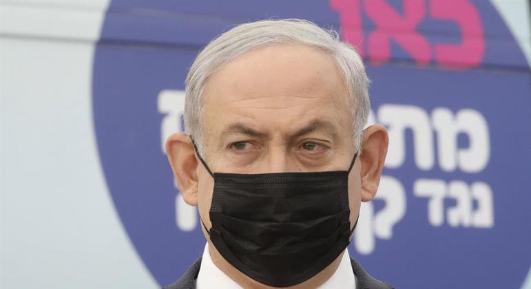 O primeiro ministro de Israel, Benjamin Netanyahu: retrocesso à vista.